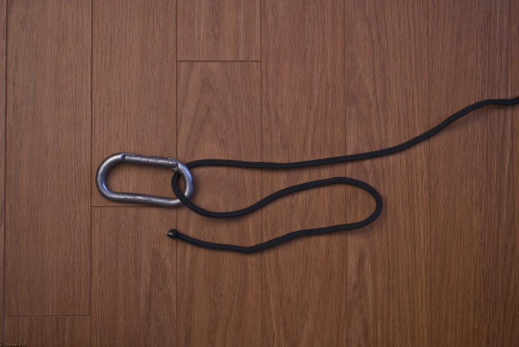 Deuxième étape du noeud de scaffold