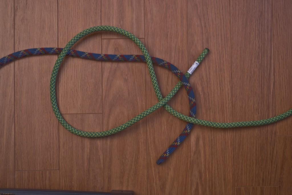 Quatrième étape du noeud de carrick