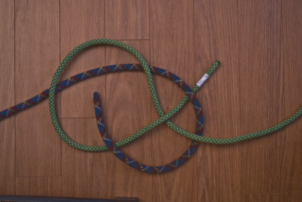 Cinquième étape du noeud de carrick