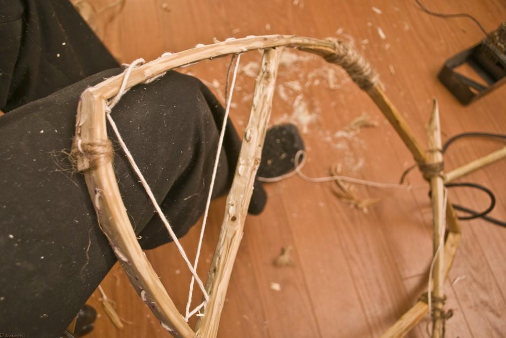 fabriquer des raquettes pattes d'ours