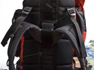 Adjust the size of you body on your bag
